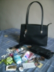My bag and its contents