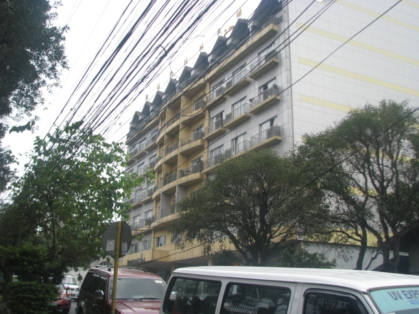 View of the hotel from Kisad Road corner Shanum Street.