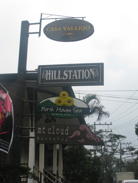 The restaurant is located in Casa Vallejo, along Upper Session Road.