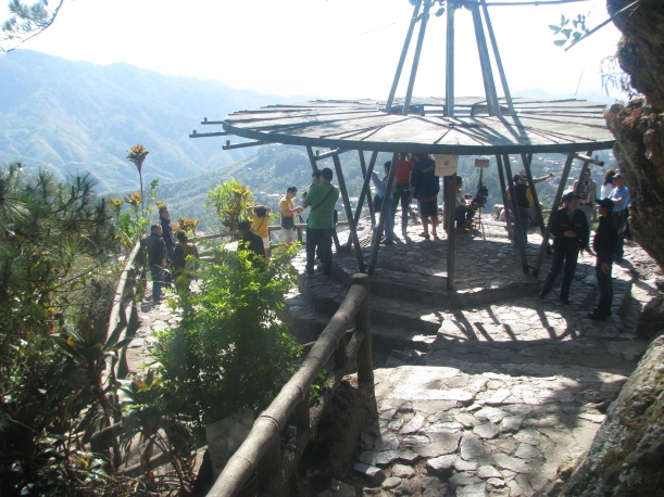 The viewing deck of Mines View Park.