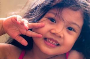 Zee, photo taken by her uncle.