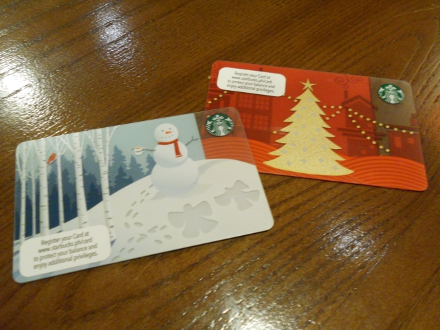Starbucks Card Christmas