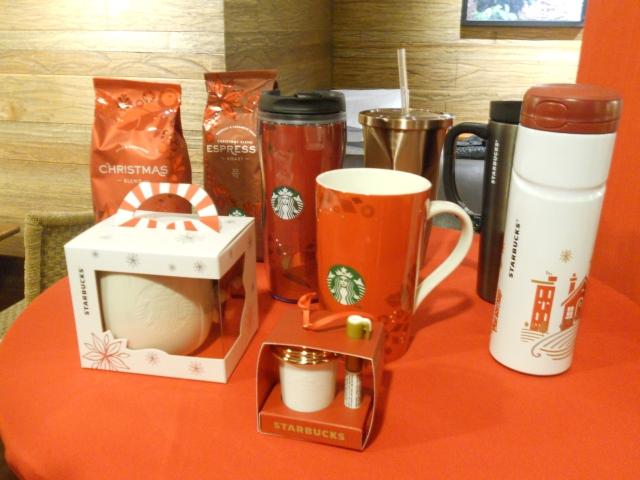 Starbucks Christmas Merchandise