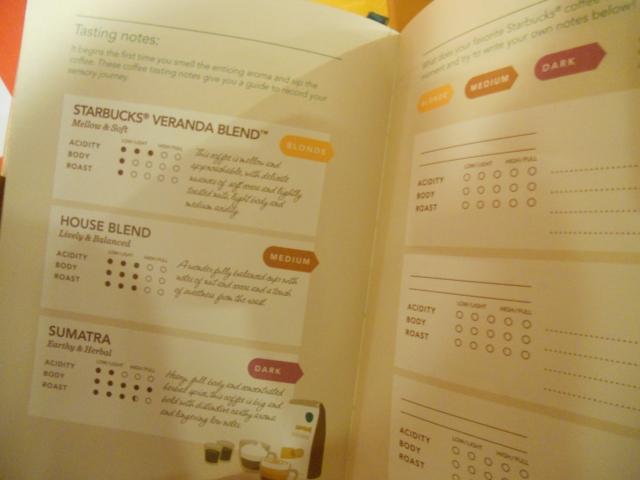 Starbucks 2014 Planner-Sample Page