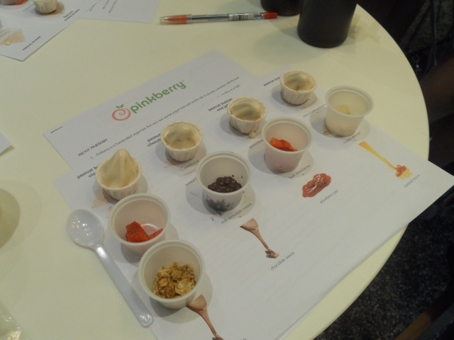 After the blind tasting activity, we were asked to make each Peanut Butter Offerings. Ingredients were given to us.
