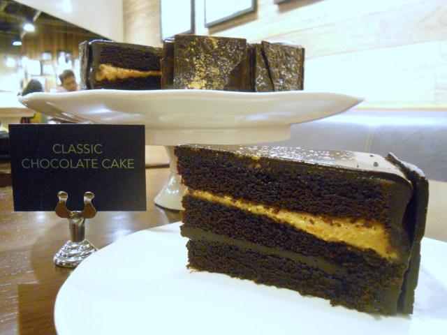 Starbucks Classic Chocolate Cake