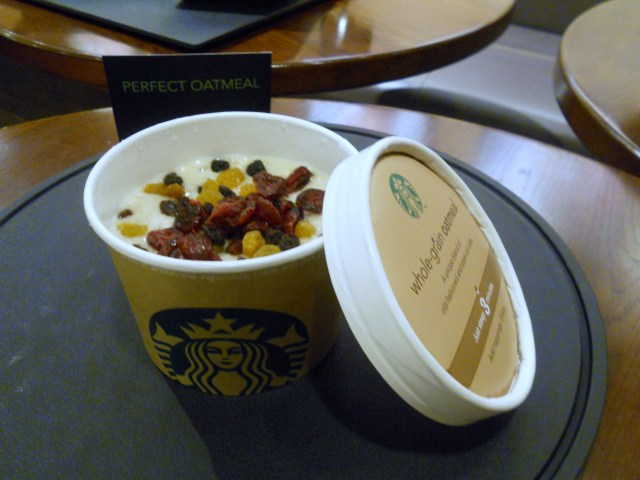 Starbucks Perfect Oatmeal