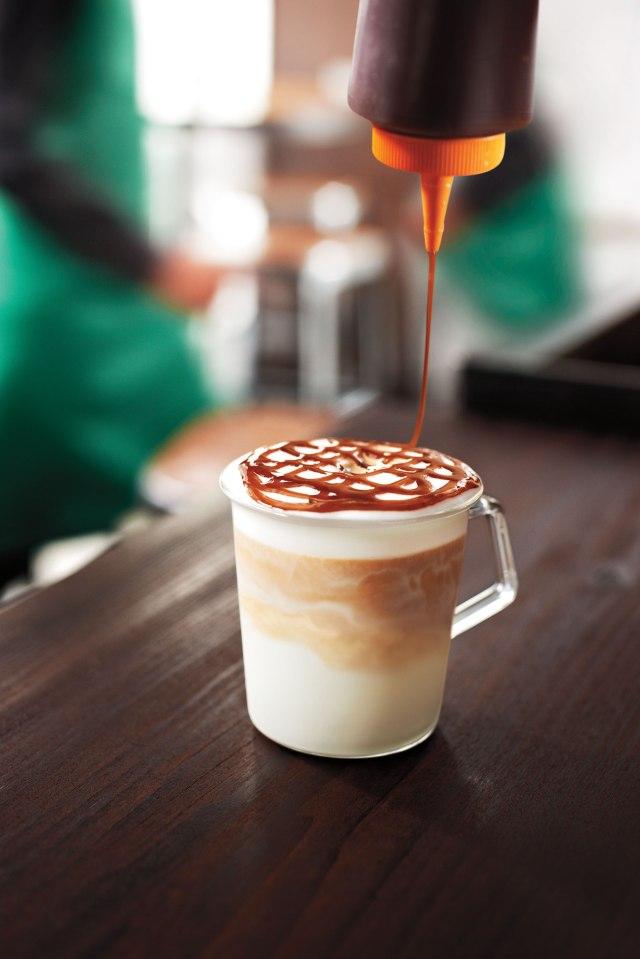 Starbucks Hazelnut Macchiato