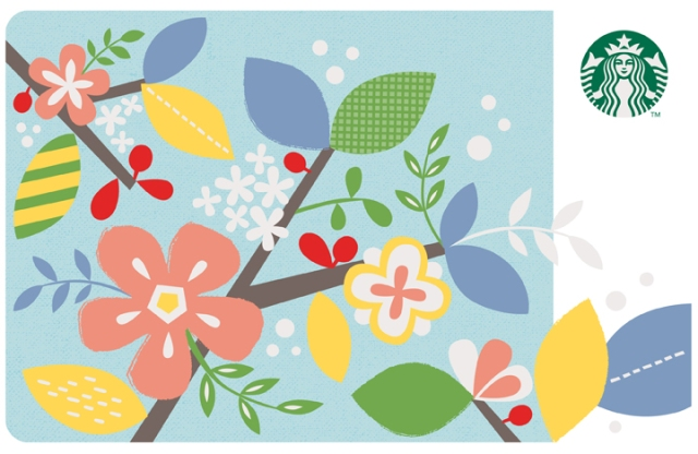 Starbucks Spring Card