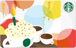 Starbucks Birthday Card