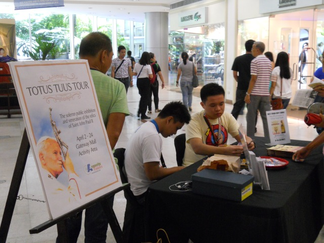 Totus Tuus Tour Philippines