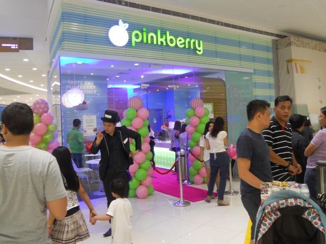 Pinkberry SM Megamall