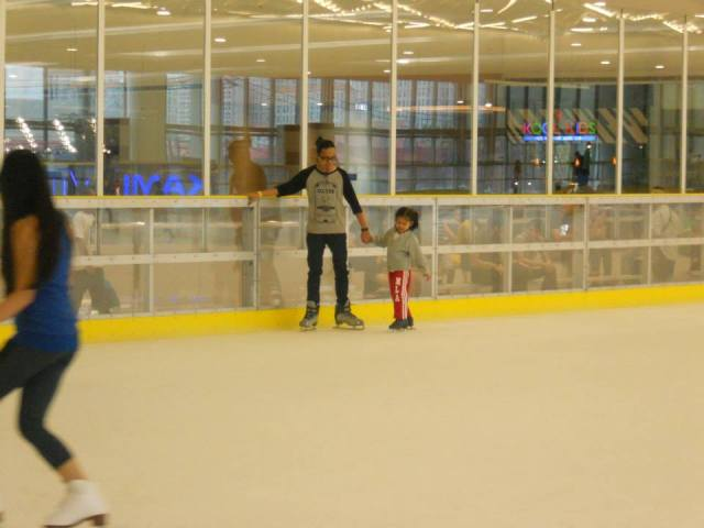 SM Megamall Ice Skating Rink