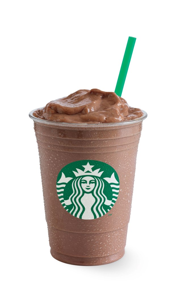 Banana Chocolate Frappuccino Blended Beverage
