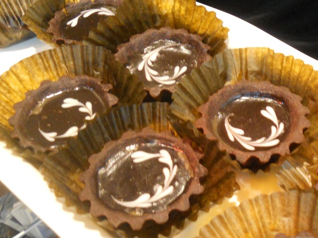 TDF: Chocolate Caramel Tart.