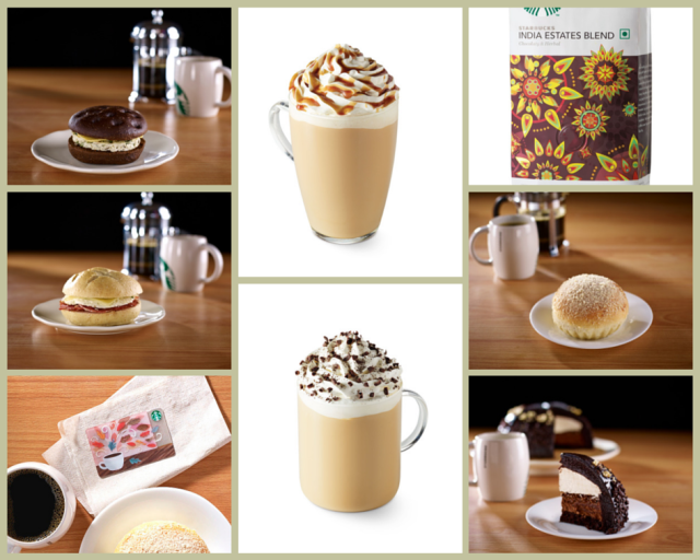 New Starbucks Food and Beverages