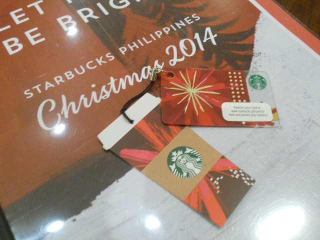 Starbucks Christmas 2014 Mini-Card