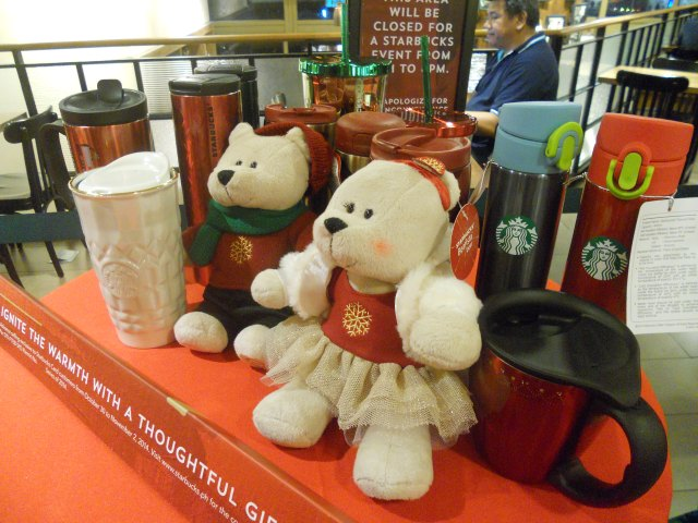 Starbucks Christmas Merchandise