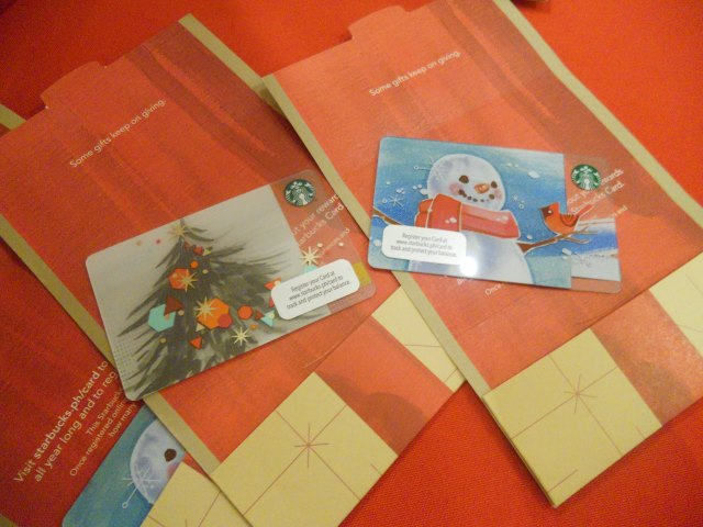 The Starbucks Christmas 2014 Card