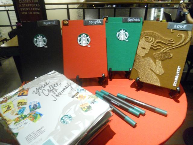 Starbucks Planner 2015