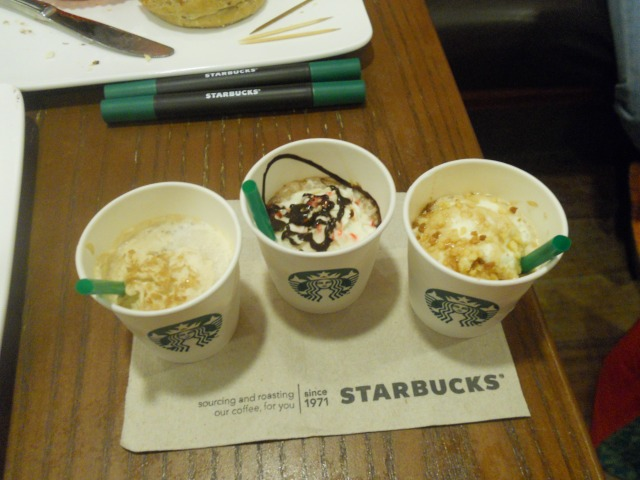 Starbucks Christmas Beverages 2014