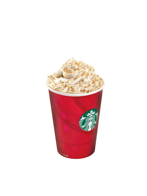 Starbucks Toffee Nut Latte