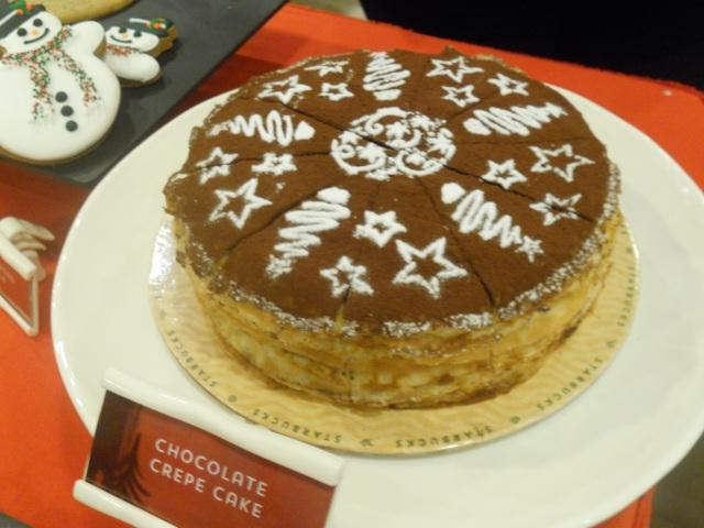 Starbucks Christmas Food 2014
