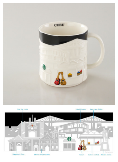 Starbucks Relief Mug - Cebu