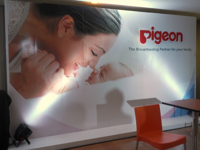 The Pigeon Breastfeeding Talk at HSBC Centre