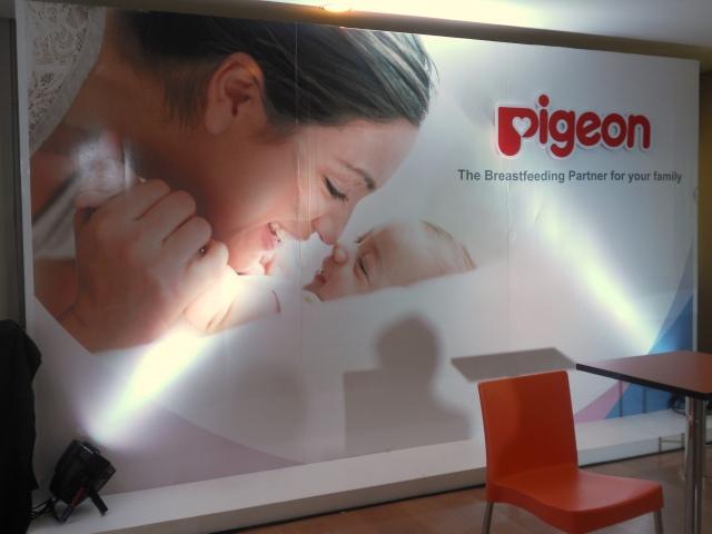 The Pigeon Breastfeeding Talk at HSBC Centre