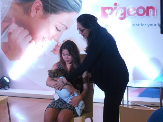 Pigeon Breastfeeding Talk