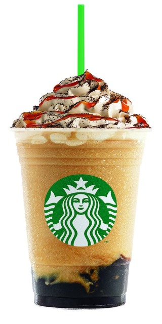 Starbucks Caramel Triple Coffee Jelly Frappuccino