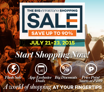 Lazada PH Effortless Shopping Sale