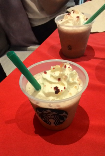 Starbucks Christmas Pannetone Latte