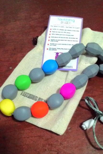 Teething Beads Necklace