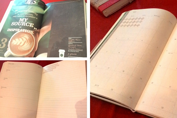 Starbucks Planner 2016 x Moleskine Weekly Planner