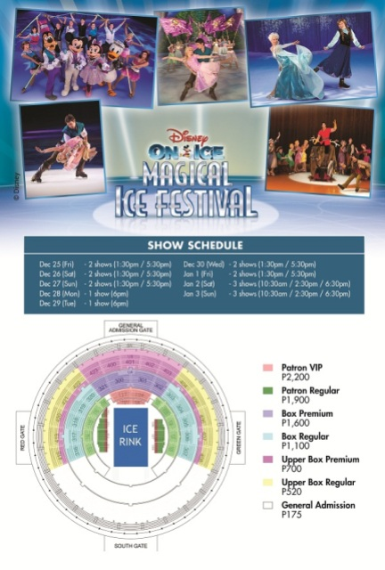 Disney on Ice Magical Ice Festival 2015