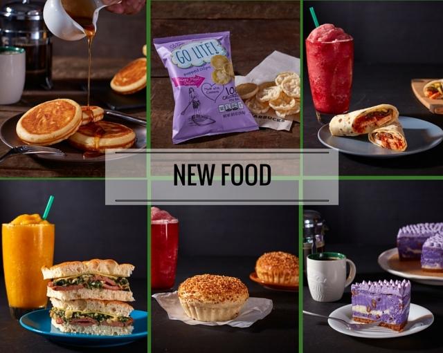 Starbucks Food Items