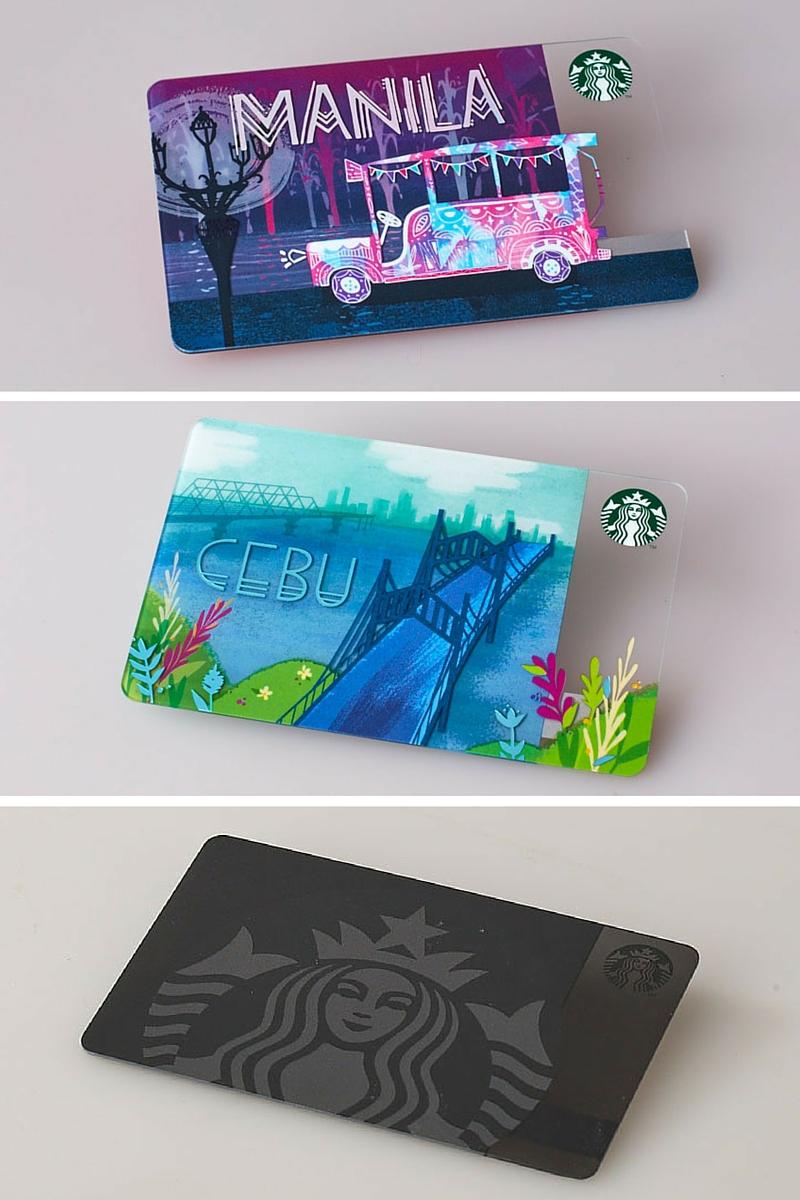Starbucks Philippines Cards 2016