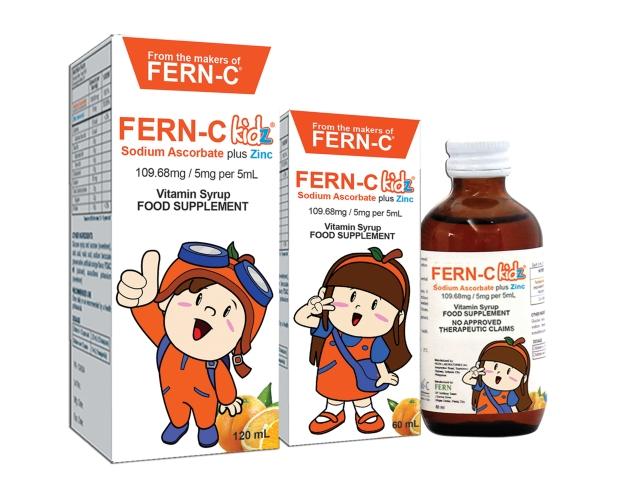 FERN-C Kidz Sodium Ascorbate Vitamin C Supplement