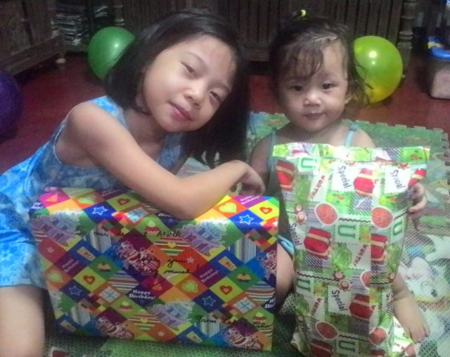Ate and Baby, my 2 precious gifts.