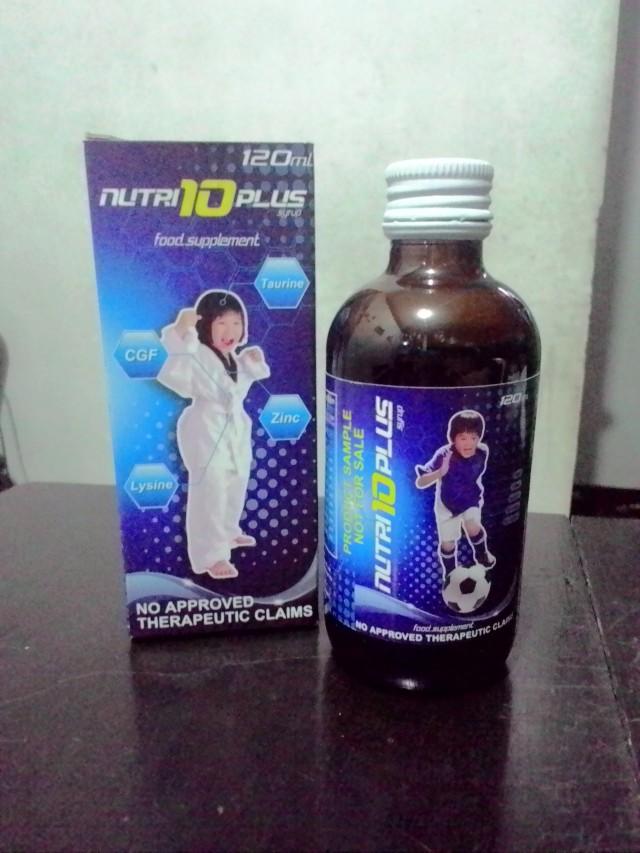 Nutri10Plus Syrup