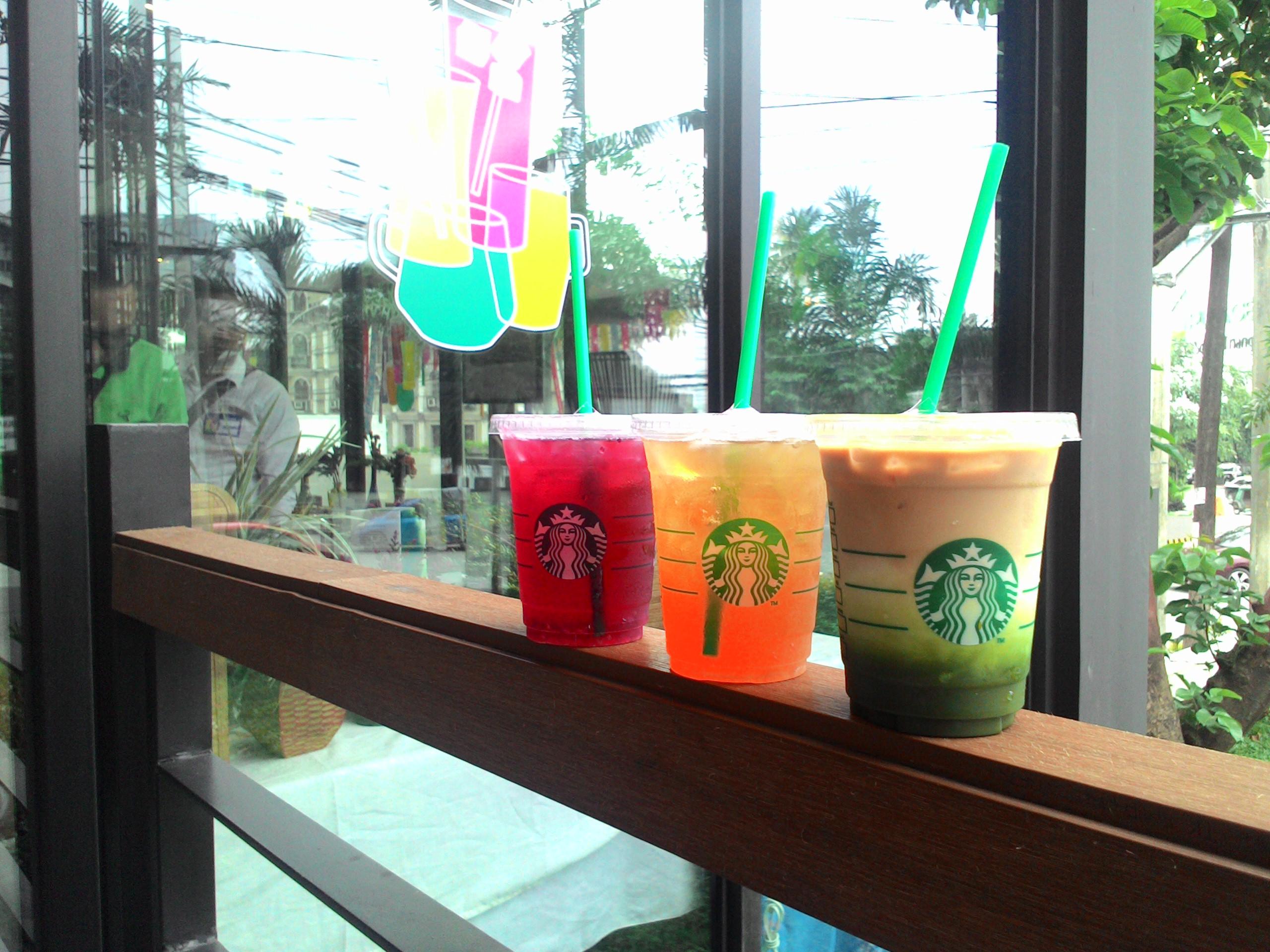 Starbucks Teavana Handcrafted Beverages