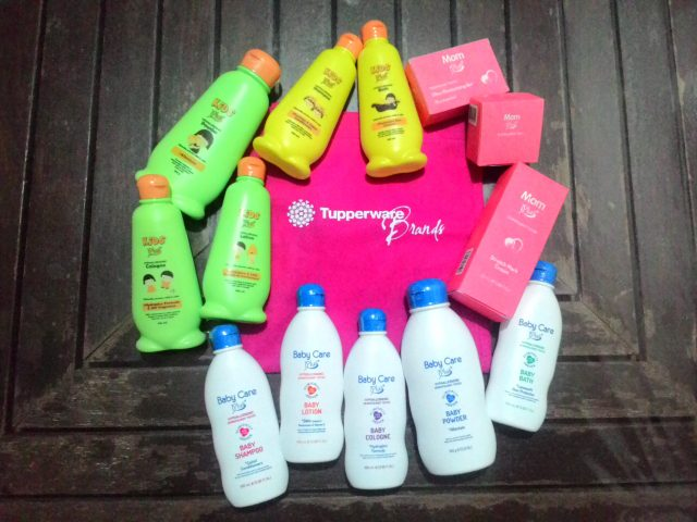 Tupperware Brands Baby Care Plus+, Kids Plus+, and Mom Plus+ products