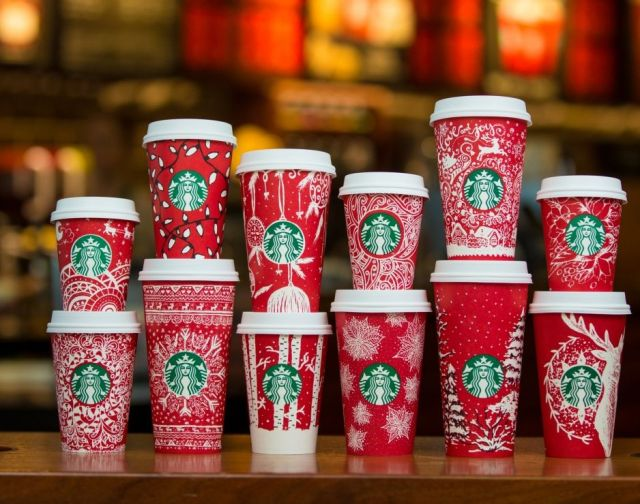 2016 Starbucks Red Cups
