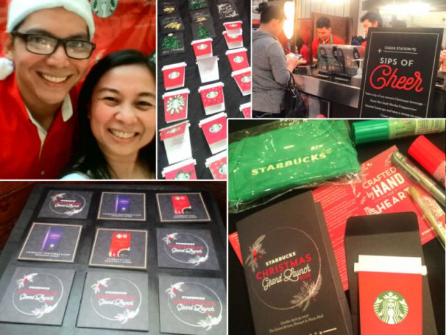 Starbucks Christmas Grand Launch 2017
