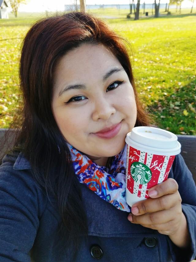 Chloe Deogaygay Starbucks Red Cups Birch Forest