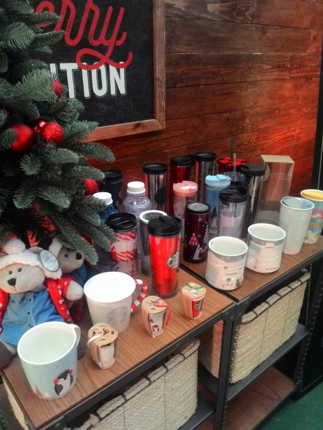Starbucks Christmas Tumblers